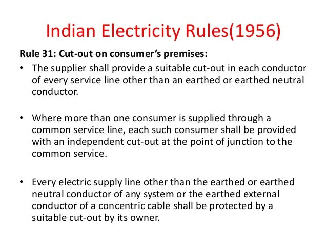House Wiring Rules In India – powerking.co