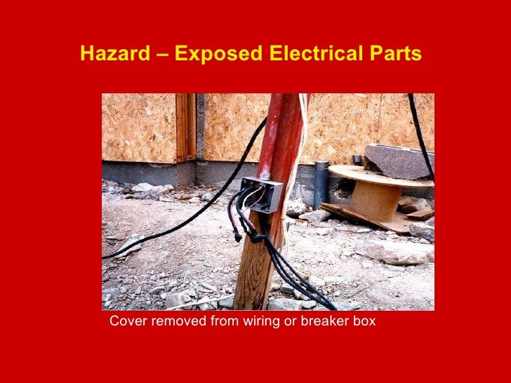 Hazard u2013 Exposed Electrical ...  sc 1 st  SlideShare : electrical wiring hazards - yogabreezes.com