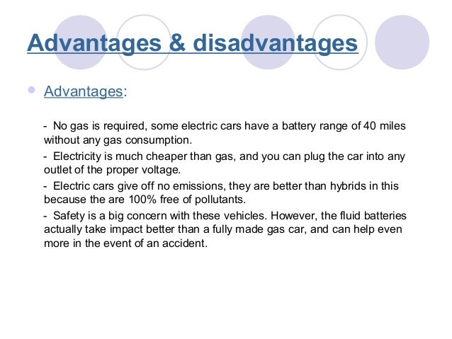 The advantages and disadvantages for having a car | Lang-8 ...