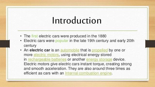 Electric cars Slide 2