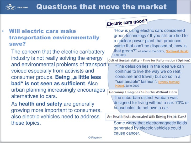 Electric Cars Global Trends