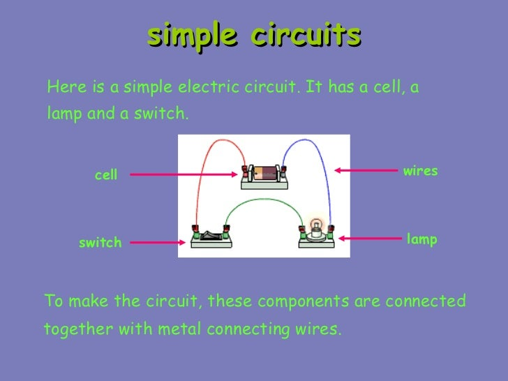 Simple Circuits Names Of Parts - Schematics Wiring Diagrams •