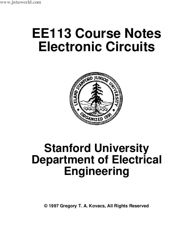 electric circuits notes