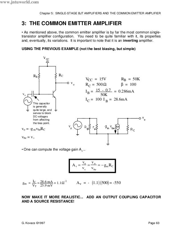 common collector amplifier theory pdf