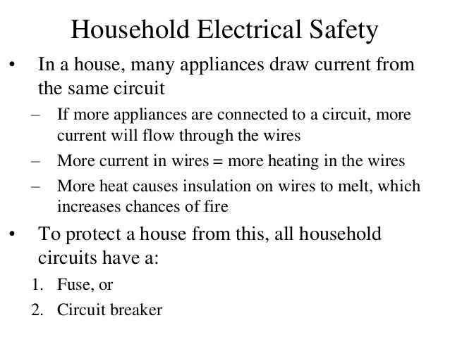 Electric current and circuit