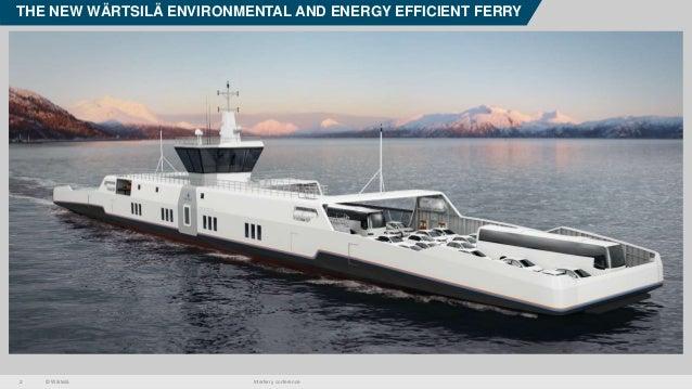 Wärtsilä Zero Emmisions Ferry Concept Slide 2
