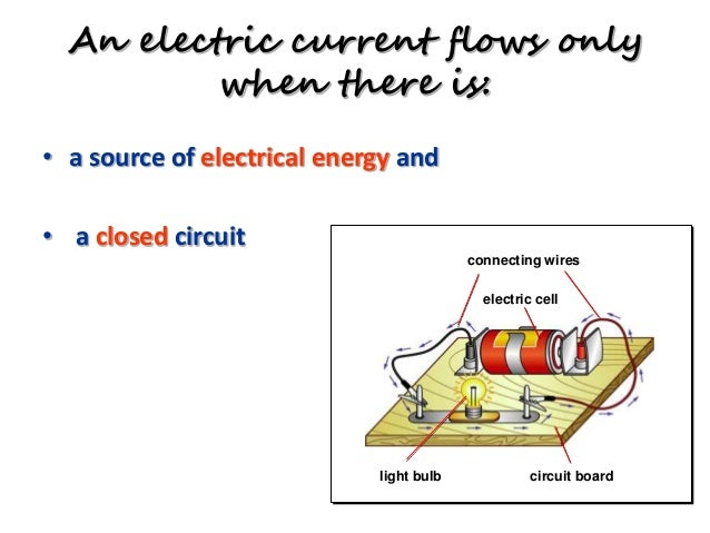 Electric Field Electric Circuit on open switch schematic