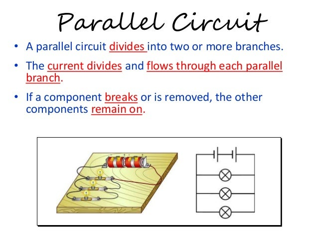 electric field electric circuit and electric current rh slideshare net Series Circuit Series Circuit Diagram