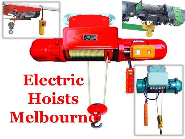 Electric Hoists Melbourne