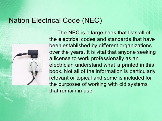 Electrician license requirements