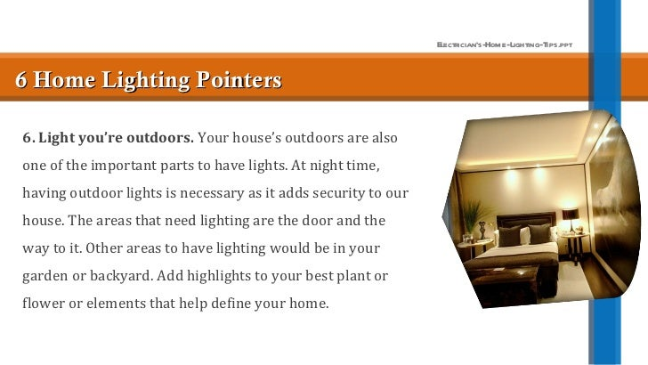Electricians home-lighting-tips