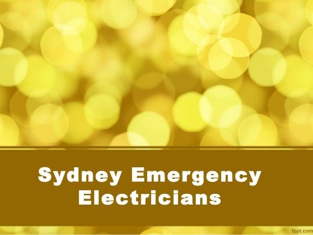 Sydney Emergency Electricians