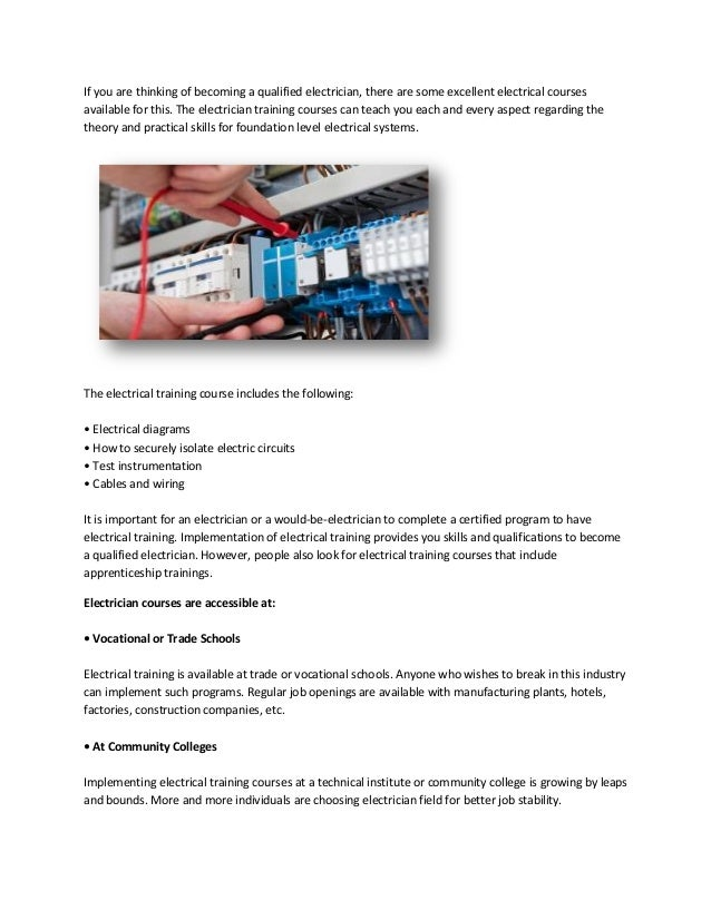 how to become ici certified electrician