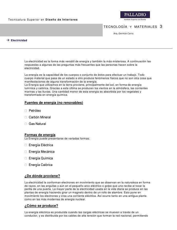Tecnicatura Superior en Diseño de Interiores                                              Instituto Superior de Diseño    ...