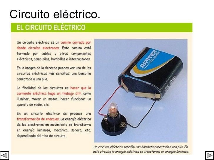 Circuito eléctrico.