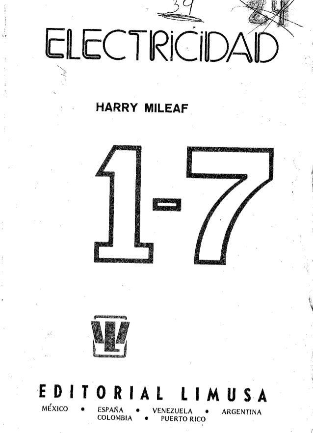 Electricidad 1-7 - Harry Mileaf