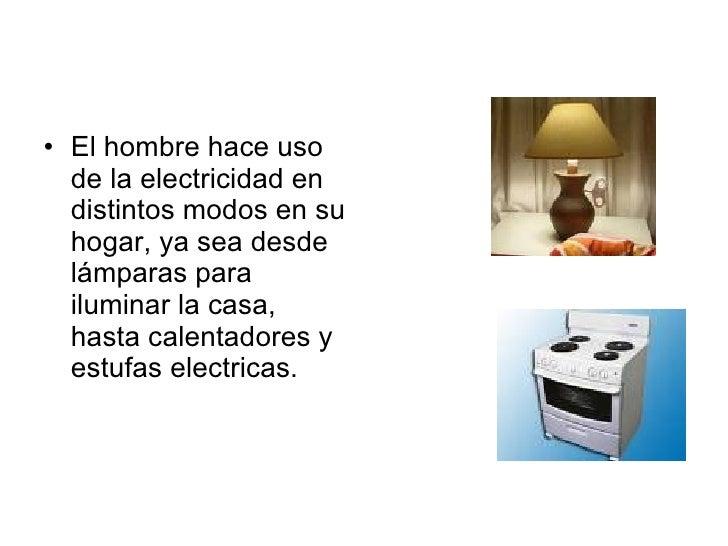 Electricidad y magnetismo en el hogar for Cosas de hogar