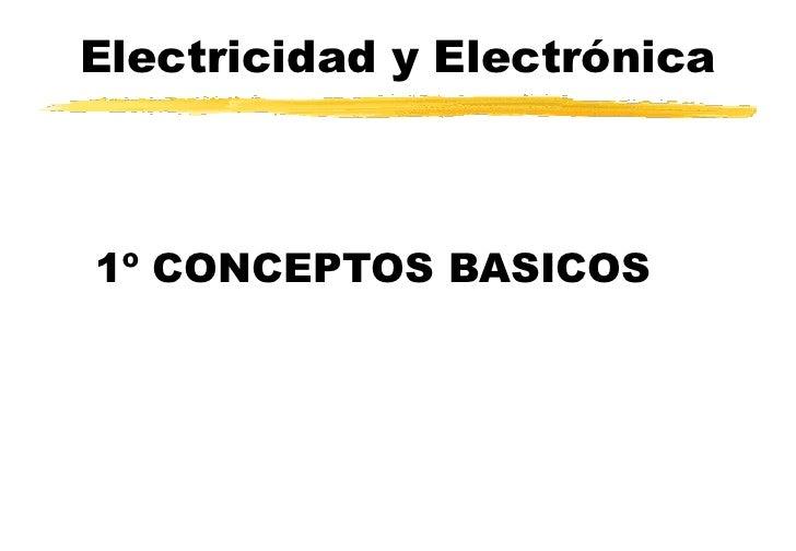 electricidad b u00e1sica