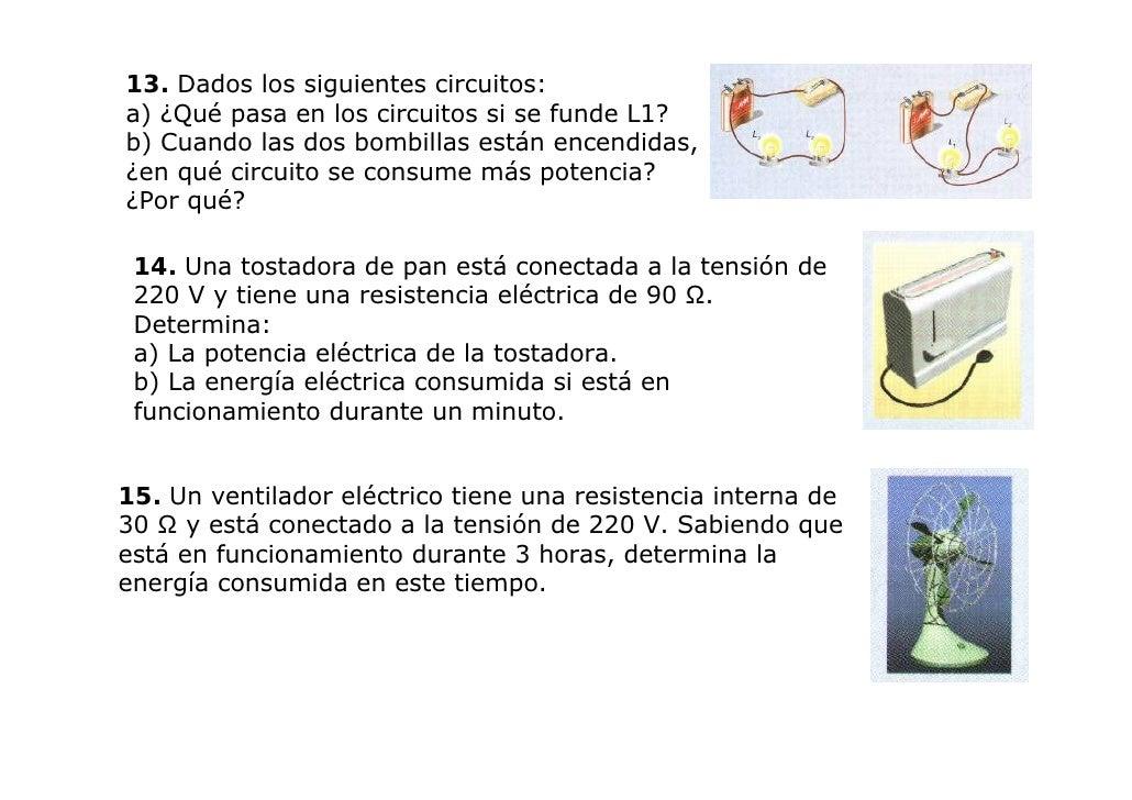 Electricidad 3 eso sin actividades