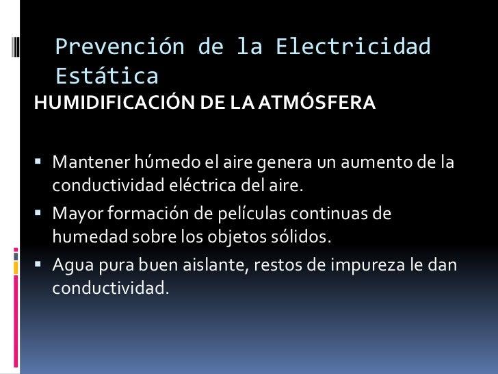 Electricidad est tica y radiaci n electromagn tica for Como evitar la electricidad estatica