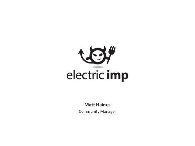 Matt Haines Community Manager