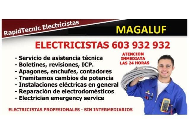 Electricistas Magaluf 603 932 932