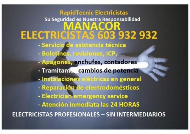 RapidTecnic Electricistas  Su Seguridad es Nuestra Responsabilidad I ' A I,  I  - Servicio de asistencia técnica - Boletin...