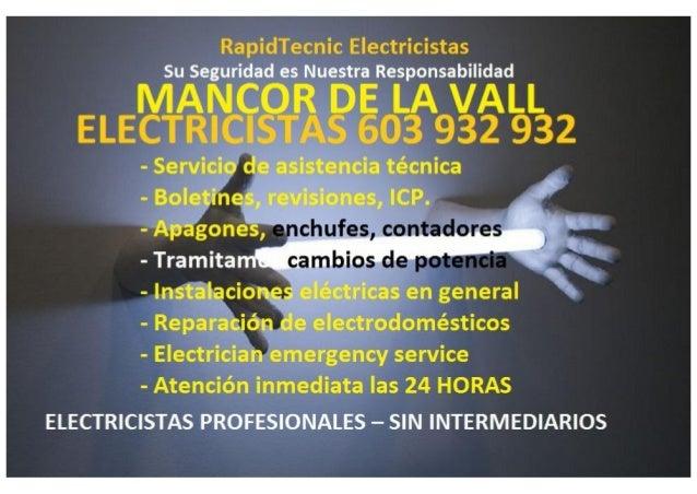 RapidTecnic Electricistas Su ñSeguridadíesiNuestraí Responsabilidad  l l),    «;     L L  - Servicio de asistencia 'técnic...
