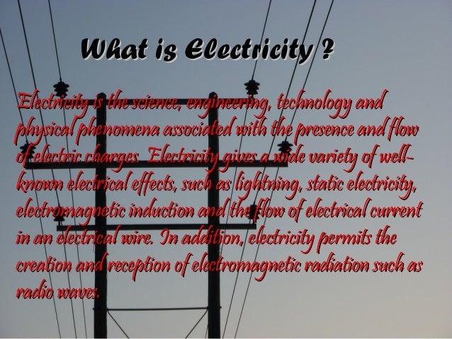 Electricity Slide 2