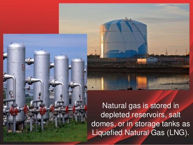 Natural Gas Is Stored In
