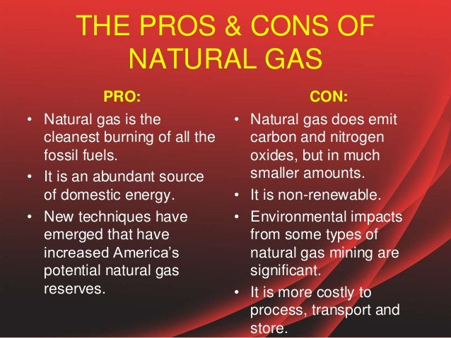 Pros And Cons Of Fossil Fuels >> THE PROS & CONS OF