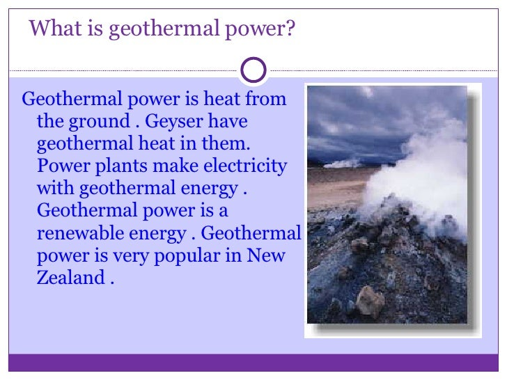 Electricity Power Point Slide 2