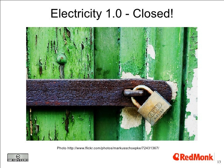 Electricity 1.0 - Closed!      Photo http://www.flickr.com/photos/markusschoepke/72431367/                                ...