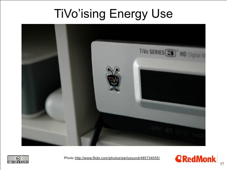 TiVo'ising Energy Use      Photo http://www.flickr.com/photos/earlysound/485734055/                                       ...