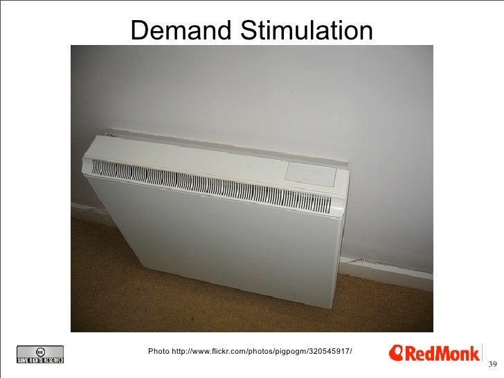 Demand Stimulation      Photo http://www.flickr.com/photos/pigpogm/320545917/                                             ...