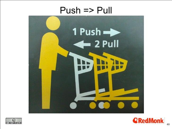 Push => Pull                    40