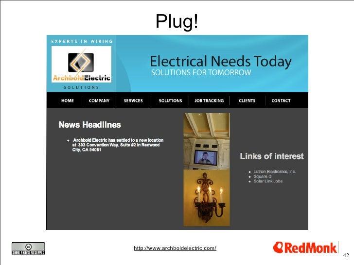 Plug!     http://www.archboldelectric.com/                                    42