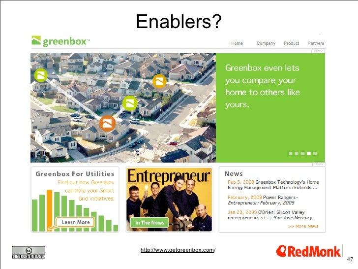 Enablers?     http://www.getgreenbox.com/                               47