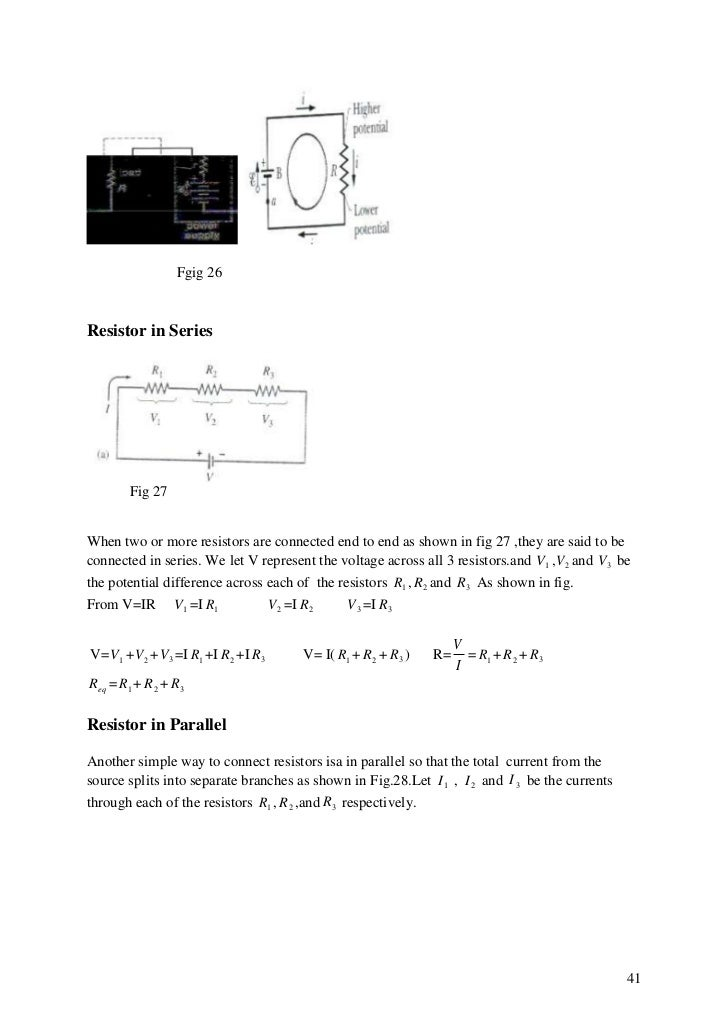 Electricity and magnetism 1