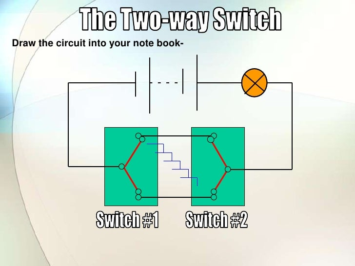 Two Way Switch Gcse - Wiring Diagrams •