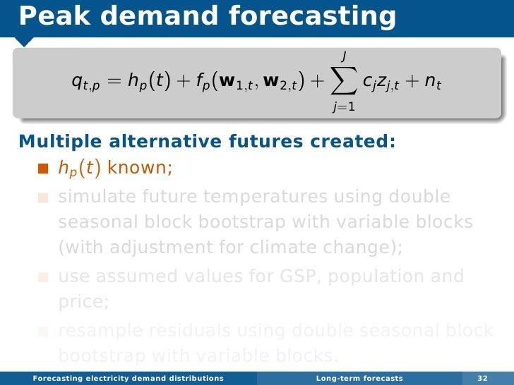 Long Term Electricity Demand Forecast