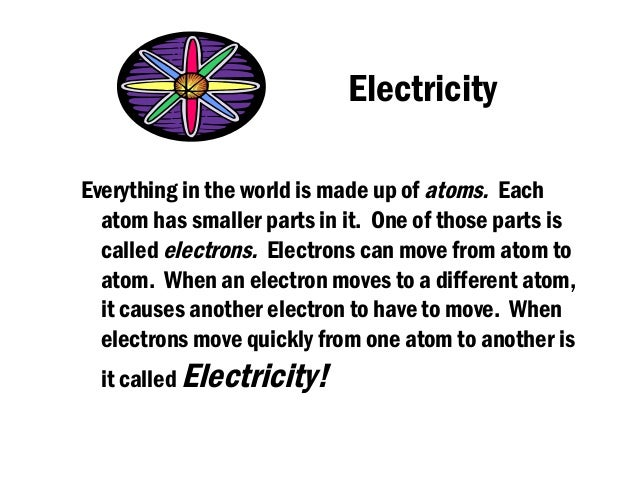 Electricity (science)