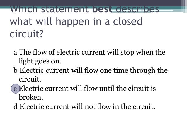 How Current is Your Knowledge About Electricity?