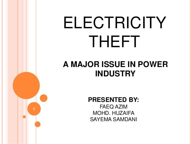 Electricity Theft 1