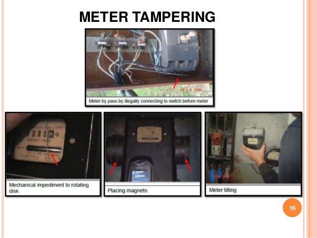 METER TAMPERING                  16