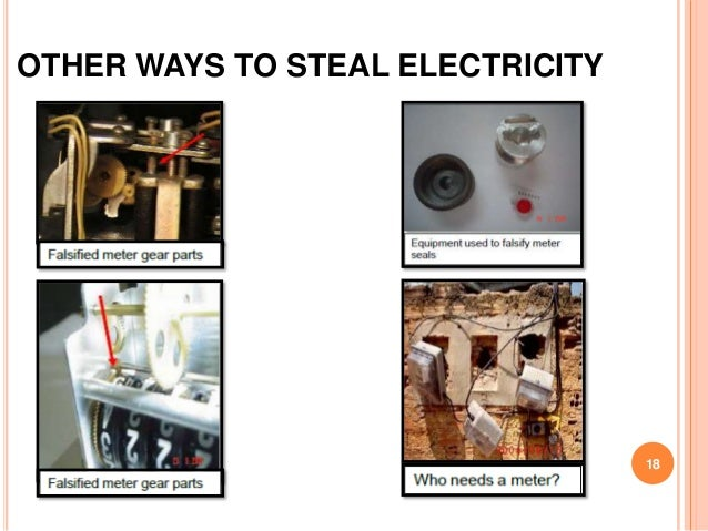 OTHER WAYS TO STEAL ELECTRICITY                                  18