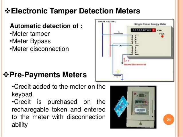 Bypass New Electrical Digital Meters : Electricity meter bypass