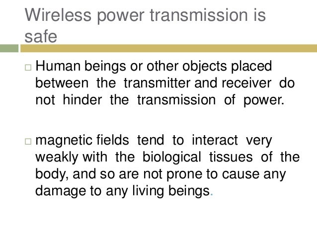 WiTricity - Electricity through Wireless Transmission
