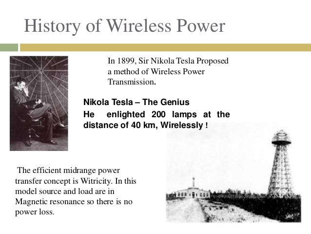 Witricity Electricity Through Wireless Transmission