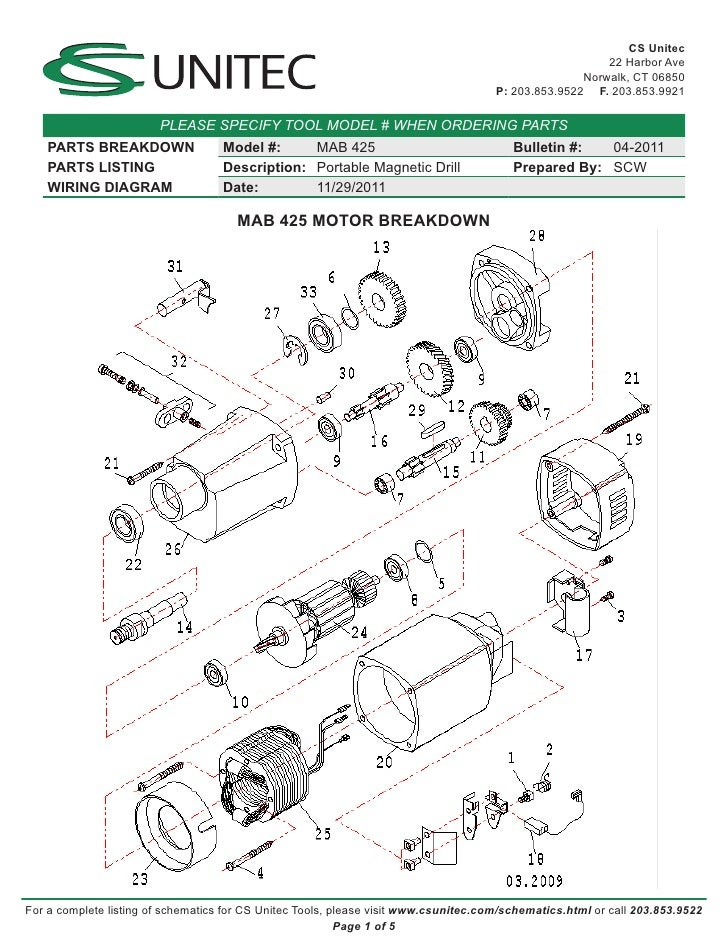 mag drill switch wiring diagram mag drill switch wiring diagram cs unitec electric magnetic drills schematic mab 425